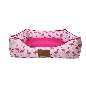 Cama Fabrica Pet Flamingo Tamanho M
