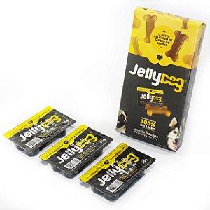 JellyDog Suplemento 100% Colágeno para Pets - Cx c/03 unidades