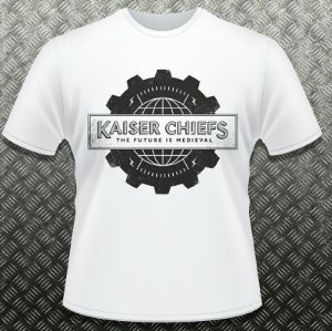 Camiseta Kaiser Chiefs - The Future is Medieval