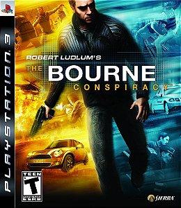 JOGO PS3 - ROBERT LUDLUM'S THE BOURNE CONSPIRACY  (USADO)