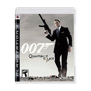 Jogo Ps3  - 007 Quantum Of Solace (Usado)