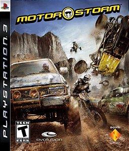 JOGO PS3 - MOTOR STORM (USADO)