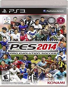 JOGO PS3 - PES 2014 (USADO)