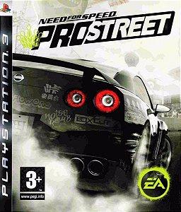JOGO PS3 - NEED FOR SPEED PRO STREET (USADO)
