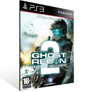 JOGO PS3 - TOM CLANCY'S GHOST RECON 2 ADVANCED WARFIGHTER (USADO)
