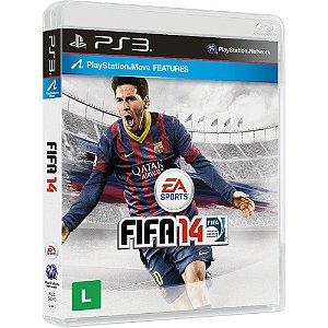 JOGO PS3 - FIFA 14 - (USADO)
