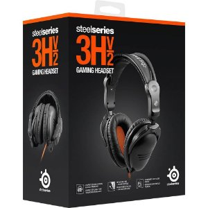 HEADSET STEELSERIES 3HV2 GAMING