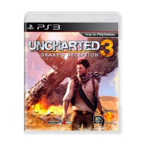 JOGO PS3 - UNCHARTED 3 DRAKE'S DECEPTION (USADO)