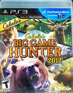 JOGO PS3 - CABELA'S BIG GAME HUNTER 2012