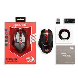 MOUSE GAMER PERDITION BLACK REDRAGON M901