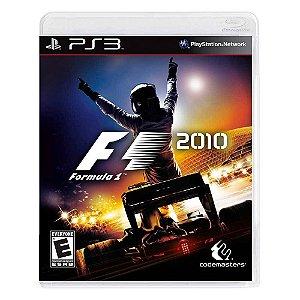 JOGO PS3 - F1 2010 (USADO)