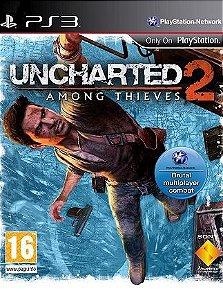 JOGO PS3 - UNCHARTED 2 (USADO)