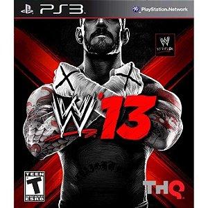 JOGO PS3 - WWE 2K 13 (USADO)