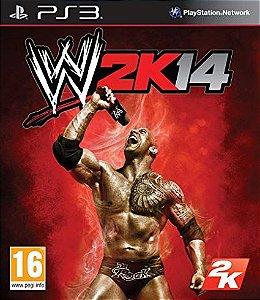 JOGO PS3 - WWE 2K 14 (USADO)