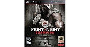 JOGO PS3 - FIGHT NIGHT CHAMPION (USADO)