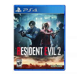 JOGO PS4 - RESIDENT EVIL 2