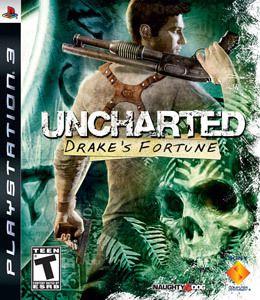 Jogo Ps3 - Uncharted Drake's Fortune (Usado)