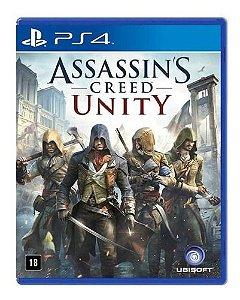 Jogo Ps4 - Assassin's Creed Unity - Edição Limitada (Usado)