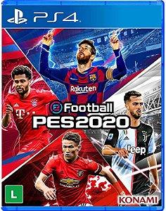 Jogo PS4 - Football PES 2020