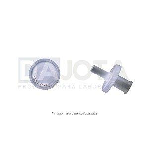 Filtro de Seringa Soldado 13mm 0.45um, PES, Emb 100 pcs, Marca Dajota