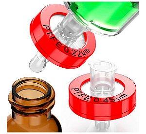 Filtro para  Seringa  Diversos Tamanhos e Membranas,marca DAJOTA. (Fv especificar)