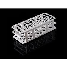 Rack polipropileno Polygrid test tube  13 mm 90 place abdos P20716  pk/1 Suporte para tubo de 13 mm em PP 90 lugares
