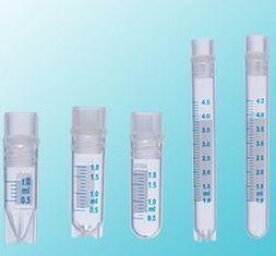MICROTUBO Cryovial  com rosca ext 1.8ml skiterd foot/sterile em polipropileno abdos P60102 cx com 1000 para ate -196 graus