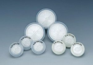 Filtro para seringa, 0,45x25mm, membrana em celulose regenerada, marca J Filter pcte de 100 unidades