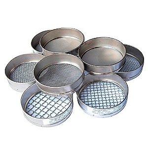 Peneiras em Aço Inox ou Latão - Test Sieves Cisa - Diversas malhas e tamanhos, com RBC