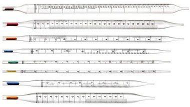 Pipetas serológicas, linha standard - De PS, graduadas, estéreis.