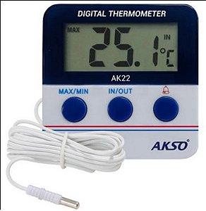 Termômetro com Alarme para Freezer/geladeira