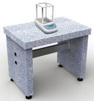 Mesa de pesagem, de granito, para microbalanças e balanças analíticas - VWR