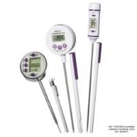 Calibrated electronic thermometers with stainless steel stem - VWR
