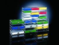 Suportes para armazenamento de caixas de lâminas - VWR