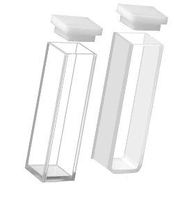 Cubeta de quartzo caminho otico 10 mm,com 4 faces polidas volume de 3,5 ml marca DAJOTA