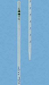 PIPETA SOROLÓGICA BRAND 0,1/0,001ml GRADUADA - REF. 27702 CX. C/ 6 UN.