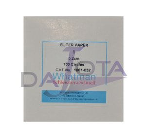 PAPEL FILTRO 3,2cm WHATMAN ref. 1001-032 - CX. 100 un. - FILTER PAPER