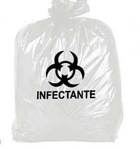 Saco Infectante 60 lts Pacote com 20 unidas