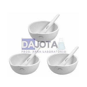 Gral (Almofariz) com Pistilo em Porcelana