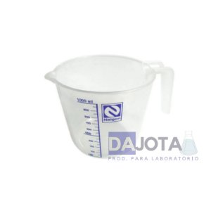 Jarra em Polipropileno Graduada em Silk-screen 1000mL
