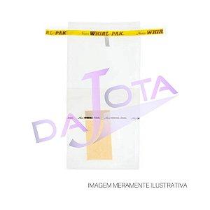 Saco Estéril Com Tarja Identificação , 532 Ml Pacote Com 500 Unidades 11,5 x 23 cms, marca Nasco