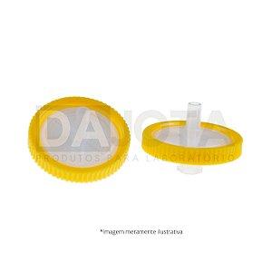 Filtro para Seringa com Membrana PVDF HIDROFILICO 13mm X 0,45 µm Pct C/100 Dajota