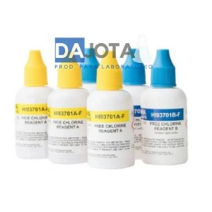 Reagentes para Cloro Livre DPD com 300 Testes