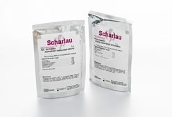 EMB Agar - Eosina Azul de Metileno Agar (Eosin Methylene Blue Agar) saches marca Scharlab caixa com 5 saches - cada sache prepara 500 ml de meio
