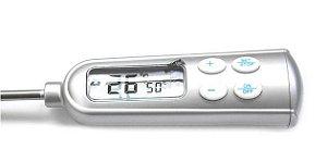 Termômetro Digital Tipo Espeto Em Aço Inox -50+300ºC com Alarme