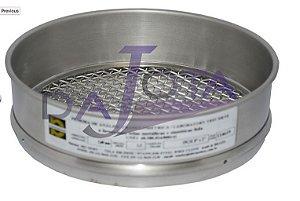 Peneira para análise e controle granulométrico aco inox 8 x 2 polegadas abertura 5,6 mm MALHA 3,5 marca BRONZINOX