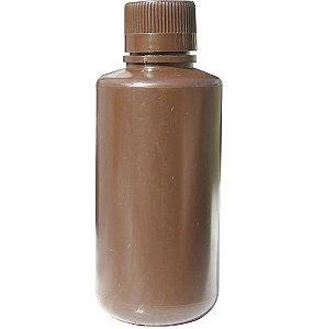 Frasco de polietileno Ambar (marrom) de 1000 ml com tampa marca Labware pct c/1 unid