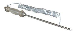 Sonda com ponta de alumínio de 26cm e mangueira de Teflon de 3m para equipamentos RAE