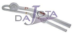 Viscosimetro vidro (tubo) calibrado cannon fenske original  tamanho 100 cod 9721-b59
