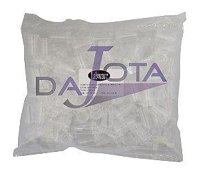 Cubeta de poliestireno descartavel de 0,5 ml pacote de 100 pcs marca Labware validade indeterminada